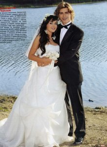 Свадьба анастасии заворотнюк и жигунова фото