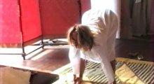 """Видео равно фото милость Божия Фриске делает гимнастику на передаче """"Империя"""""""