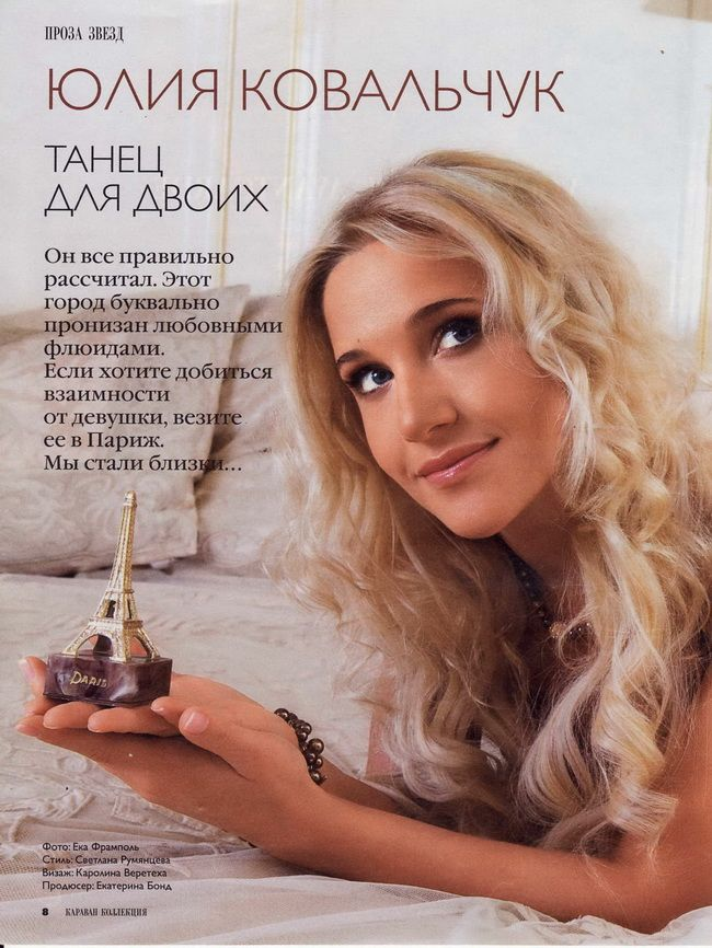 биография юлии ковальчук и фото