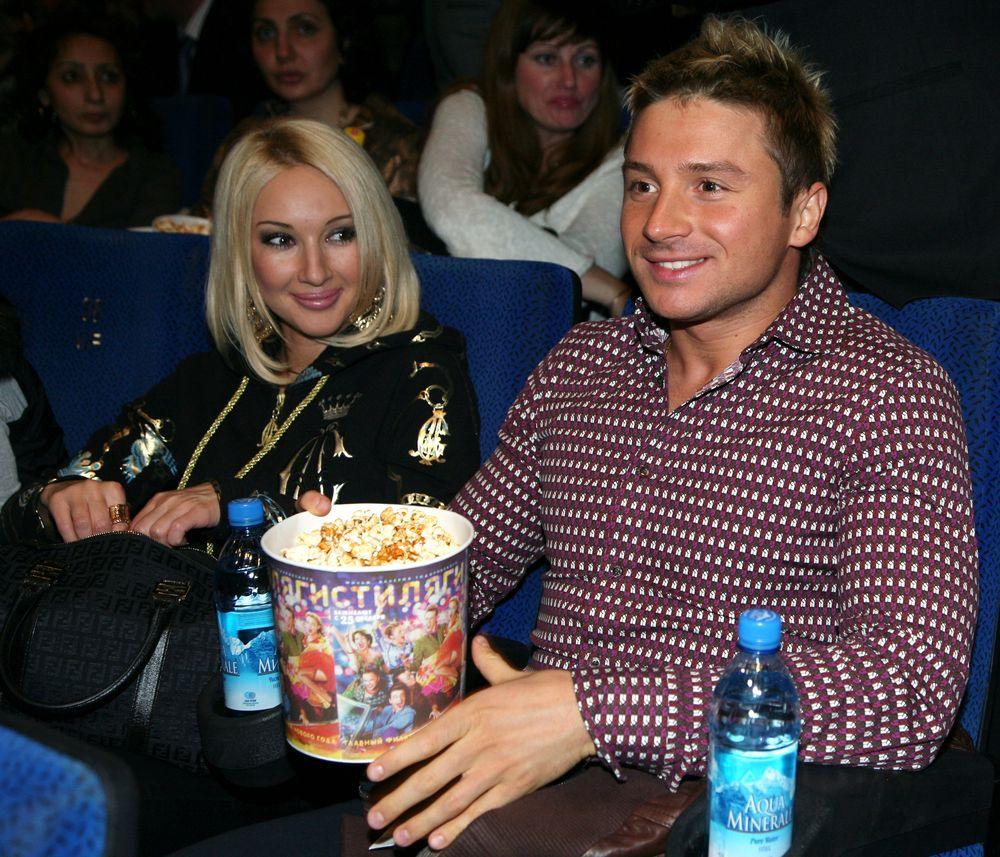 Сегодня сладкая парочка певца Сергея Лазарева и телеведущей Леры
