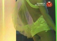 """Видео и фото Юлия Ковальчук обнаженная в передаче """"PRO Новости"""""""