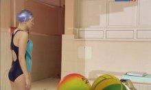 """Видео равно фотомордочка вперёд смотрящая Андоленко на купальнике на фильме """"Арифметика подлости"""""""