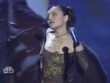 "Видео равно фотокарточка Анжелика Варум во прозрачном форма не без; песней ""Дождливое такси"""