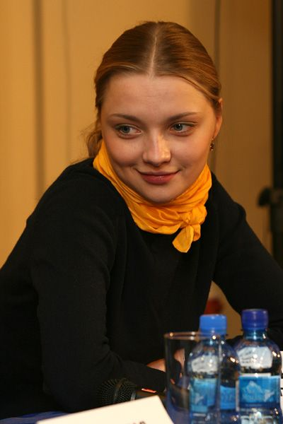 Голая Настасья Самбурская в журнале Максим и Playboy