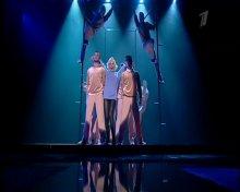"Видео равно снимок Настя Заворотнюк во программе ""Настя"" исполняет песню Мерлин Монро"