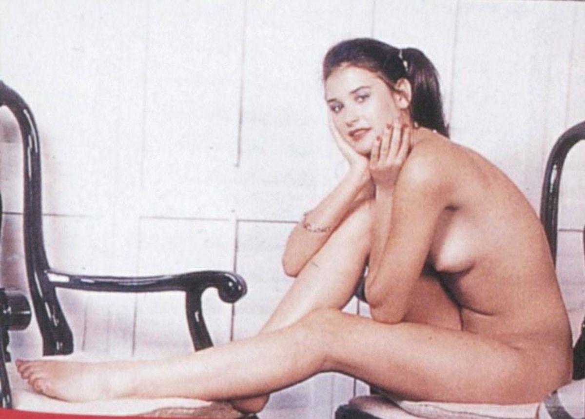 My nan naked
