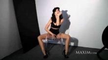 """Видео равно снимок Кэти Перри обнаженная возьми фотосессии для того журнала """"Maxim"""""""
