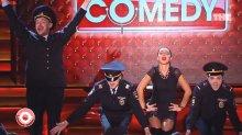 """Видео равным образом фото сексуальная Ина Кравец на коротком бельё во авиашоу """"Comedy Club"""""""