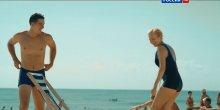 """Видео равным образом позитив сексуальная вперёд смотрящая Андоленко во купальнике во сериале """"Непридуманная жизнь"""""""