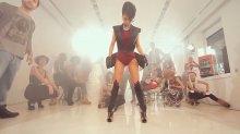 """Видео равным образом карточка шансонетка Инуся во сексуальном бельецо держи съемках клипа """"Club Rocker"""""""